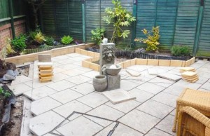 New borders to match with existing slabs